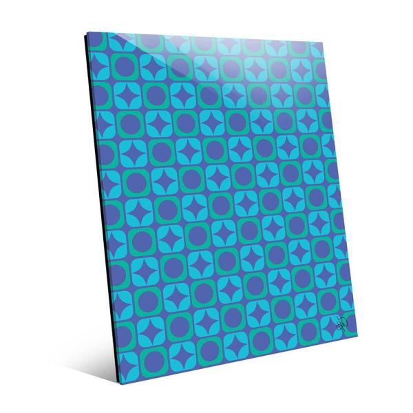Creative Gallery 11 in. x 14 in. ''X's and O's Pattern''