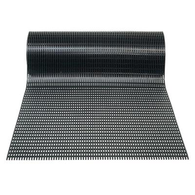 Airpath Black 3 ft. x 30 ft. PVC Anti Fatigue and Safety Rug Runner