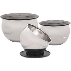 Click here to buy BergHOFF Zeno 6-Piece Mixing Bowl Set by BergHOFF.