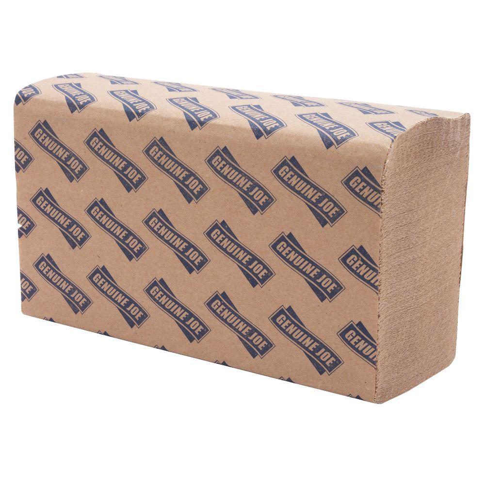 Multi-Fold Natural Paper Towels (250 Sheets per Pack)