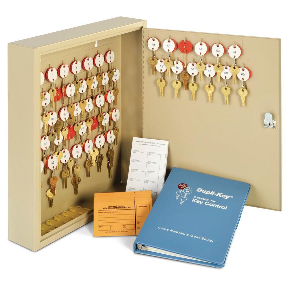 Dupli-Key 60 Key 2-Tag Cabinet