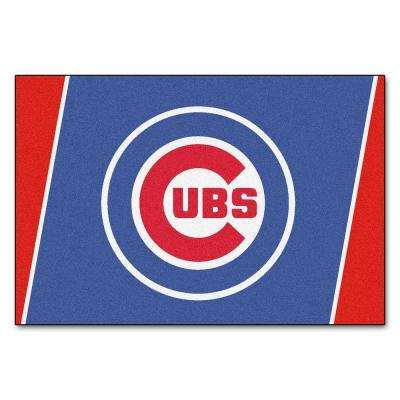 Chicago Cubs 5 ft. x 8 ft. Area Rug