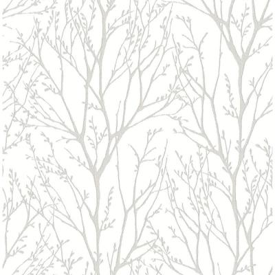 30.75 sq. ft. Treetops Peel and Stick Wallpaper