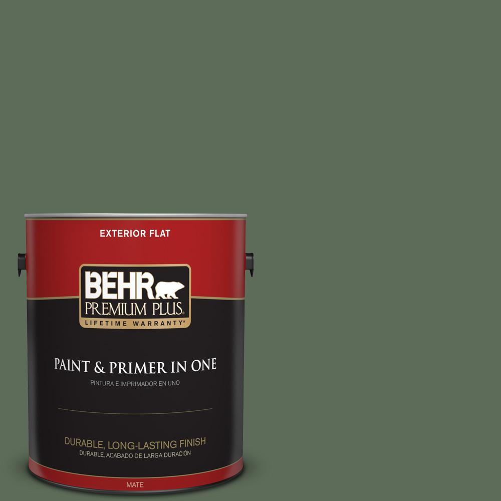 Ppu11 02 Shallot Bulb Flat Exterior Paint And