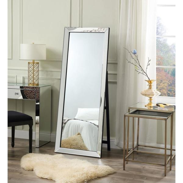 Inspired Home Coral Full Length Cheval Floor Standing Mirror Jf147 09nc Hd The Home Depot