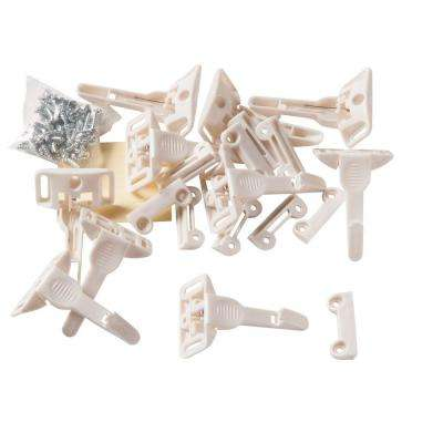 Spring Loaded Cabinet and Drawer Latches (10-Pack)