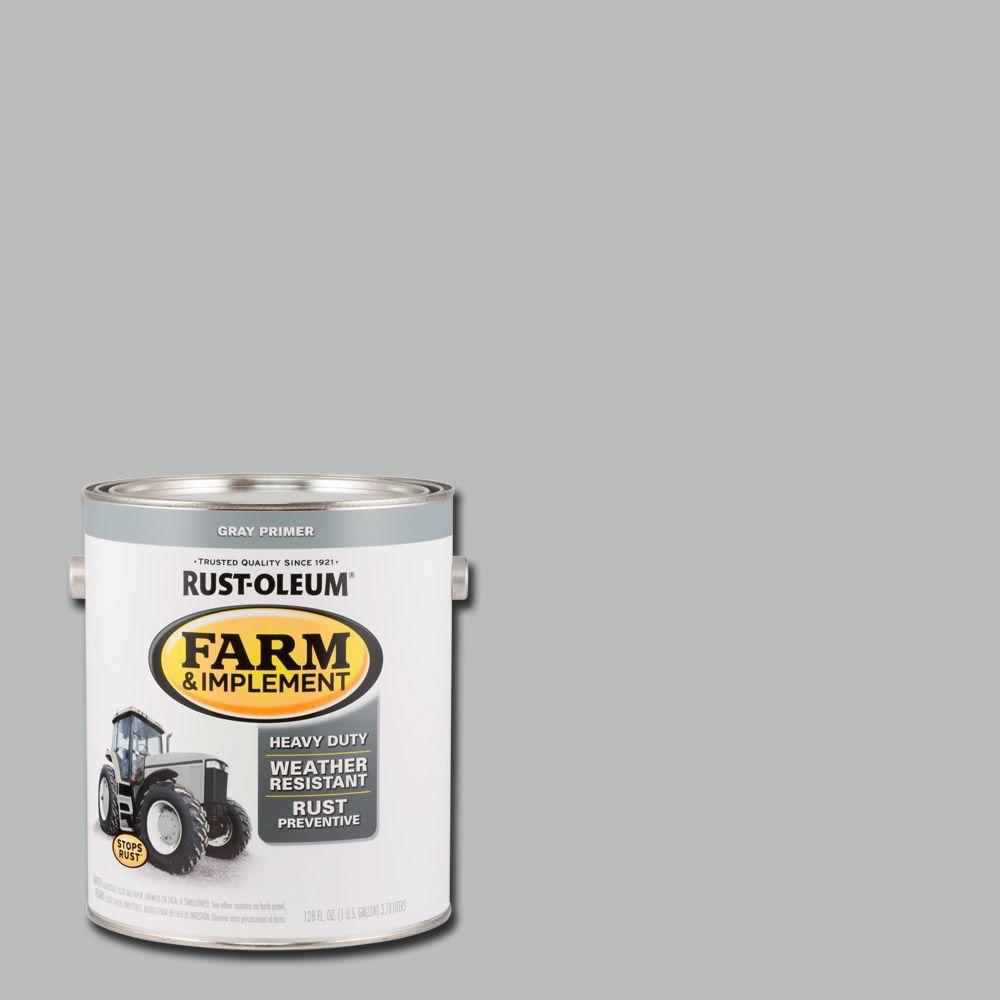 1 gal. Farm and Implement Gray Primer Paint (Case of 2)