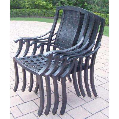 Vanguard Aluminum Patio Dining Chair (4-pack)