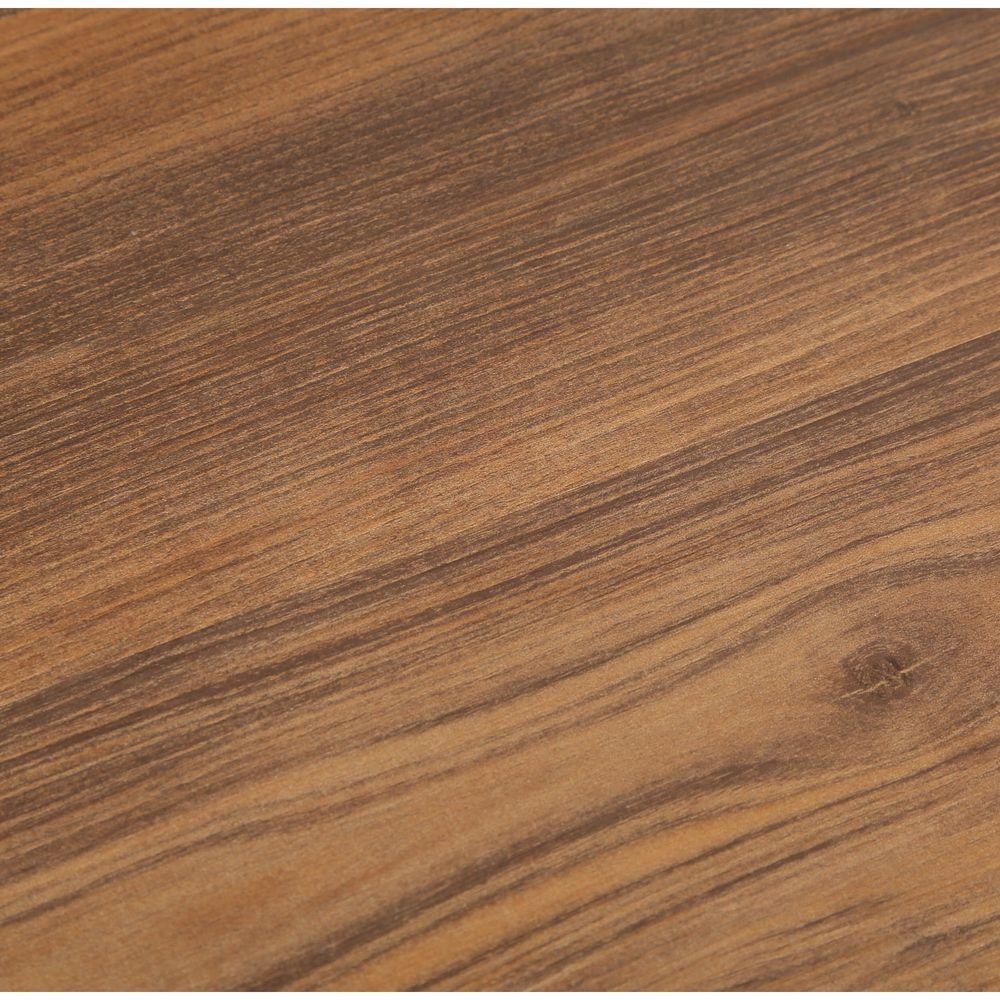 TrafficMASTER Take Home Sample - Barnwood Luxury Vinyl Plank Flooring - 4 in. x 4 in.