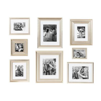 Odessa Champagne Picture Frame Set of 8