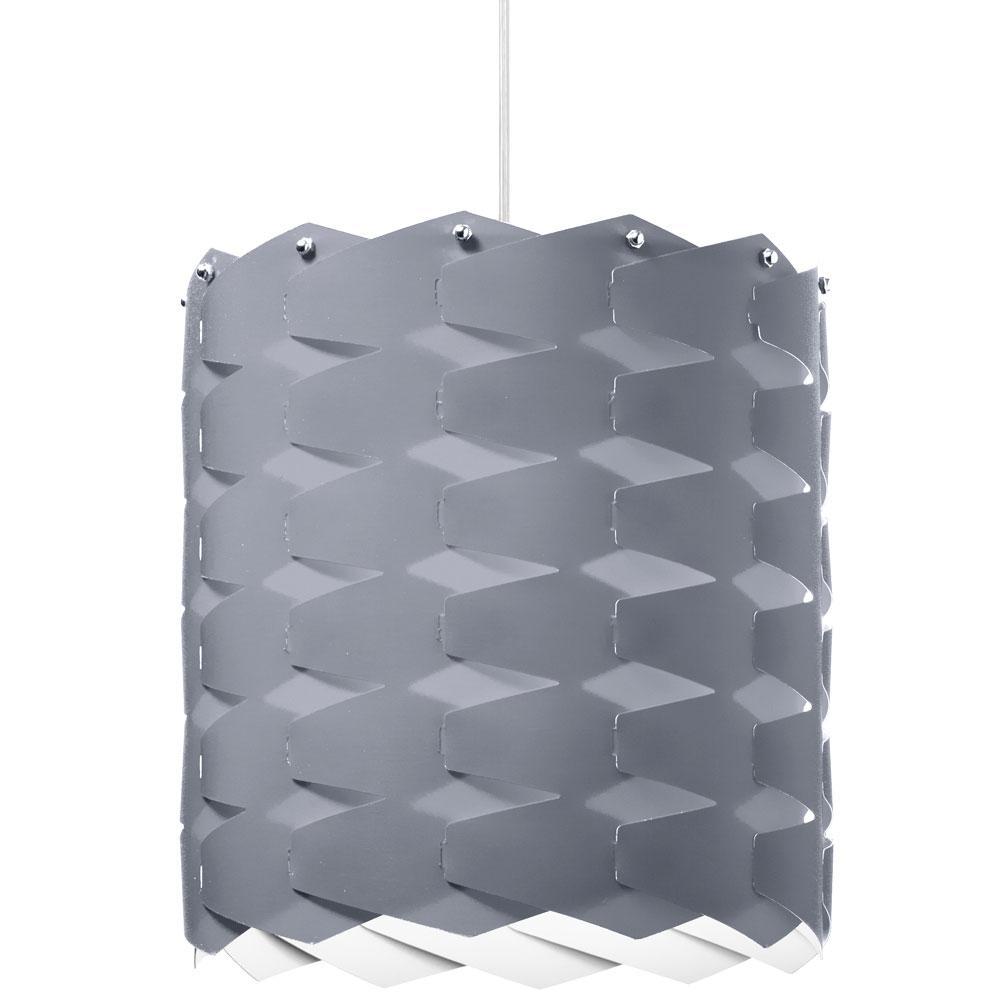 1-Light Silver Pendant