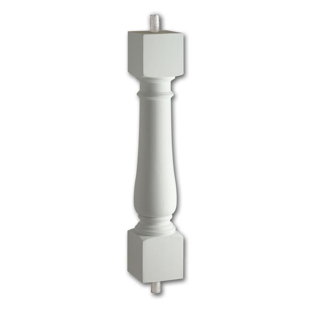 24 in. x 5 in. x 5 in. Polyurethane Classic Baluster