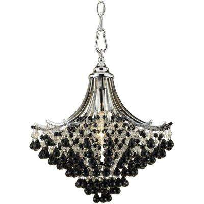 Spellbound 1-Light Chrome Pendant