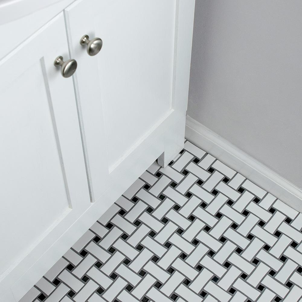 Merola Tile Metro Dog Bone Basket Weave