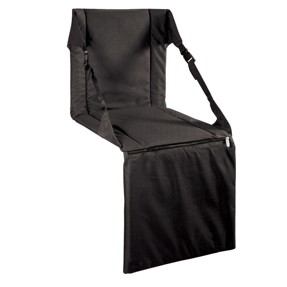 Black Stadium Portable Bleacher Seat