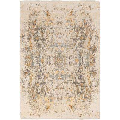 Aviana Medium Gray 8 ft. x 10 ft. Area Rug