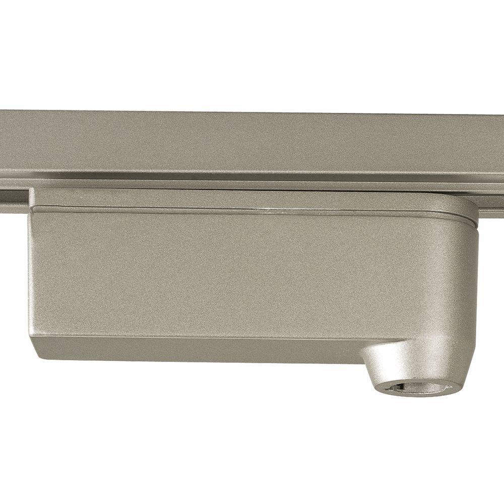 Brushed Nickel Track Accessory, 12-volt Pendant Transformer