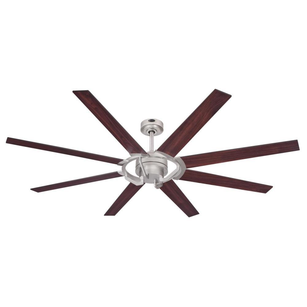 Westinghouse Damen 68 in. Nickel Luster DC Motor Ceiling Fan with Remote Control