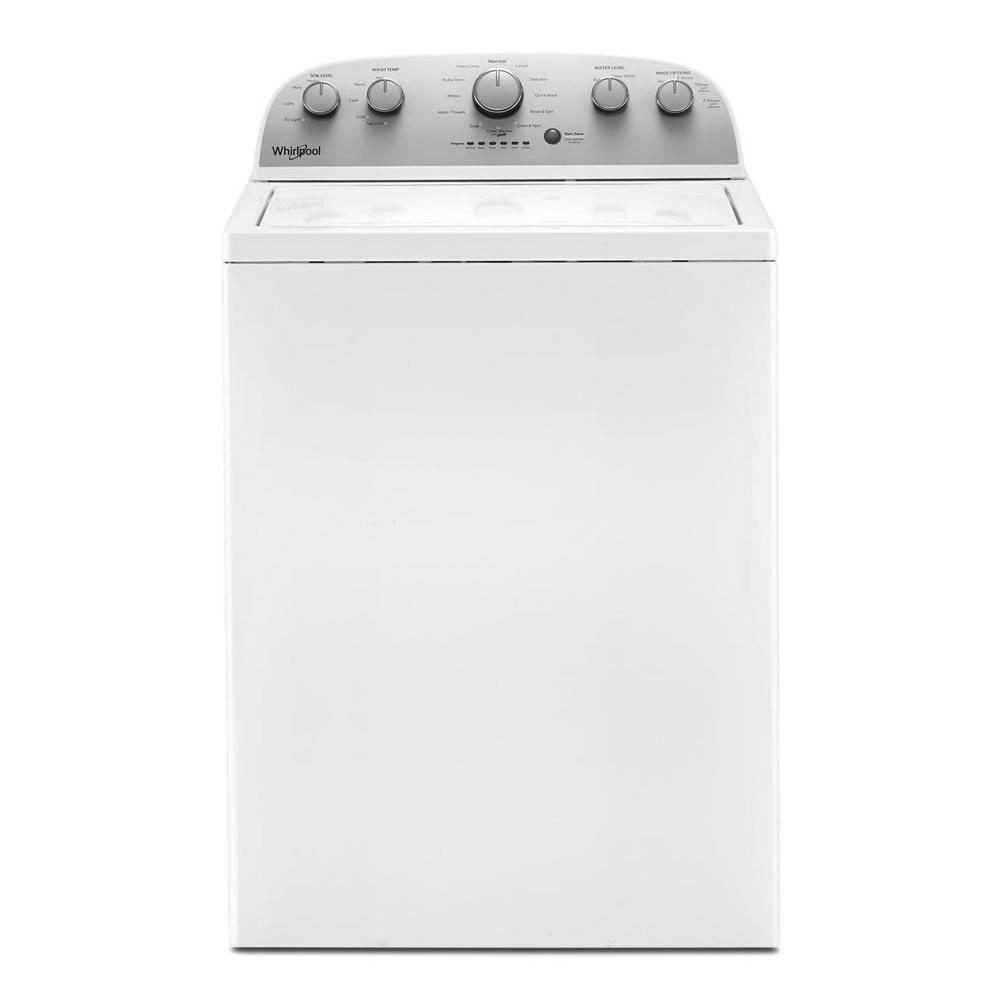 4.2 cu. ft. White Top Load Washing Machine with Agitator