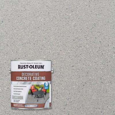 1 gal. Slate Decorative Concrete Interior/Exterior Solid Stain (2-Pack)