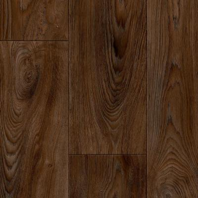 Scorched Walnut Java Wood Residential Vinyl Sheet Flooring 12ft. Wide x Cut to Length