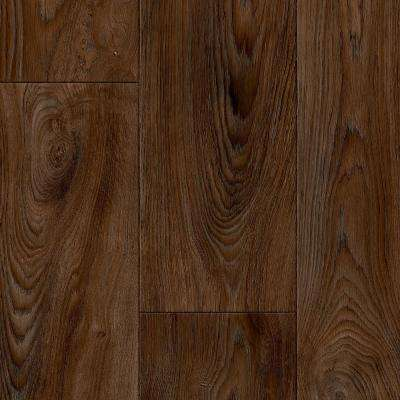 Scorched Walnut Java Residential Vinyl Sheet, Sold by 12 ft. Wide x Custom Length