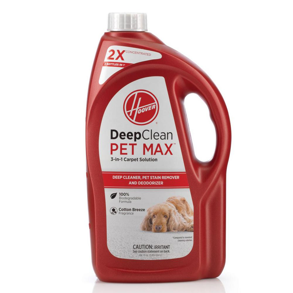 64 oz. 2X Deep Clean PET MAX 3-in-1 Carpet Solution