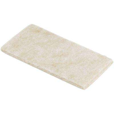 2 in. x 4 in. Heavy Duty Felt Pads (3 per Pack)