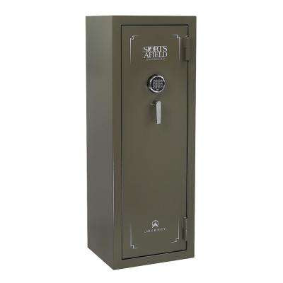 Journey Series 20-Gun E-Lock Gun Safe, OD Green Texture
