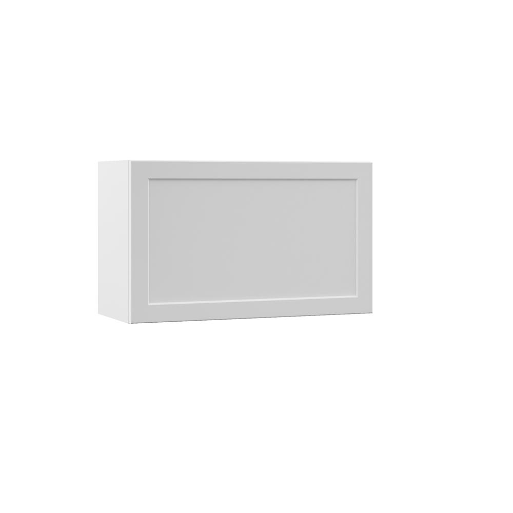 Melvern Assembled 30x18x12 in. Wall Lift Up Door Kitchen Cabinet in