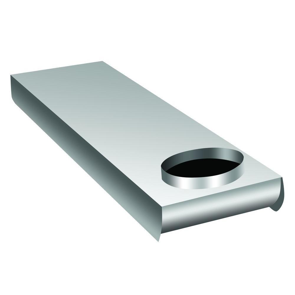 Everbilt 28 In To 45 In Adjustable Space Saver Aluminum