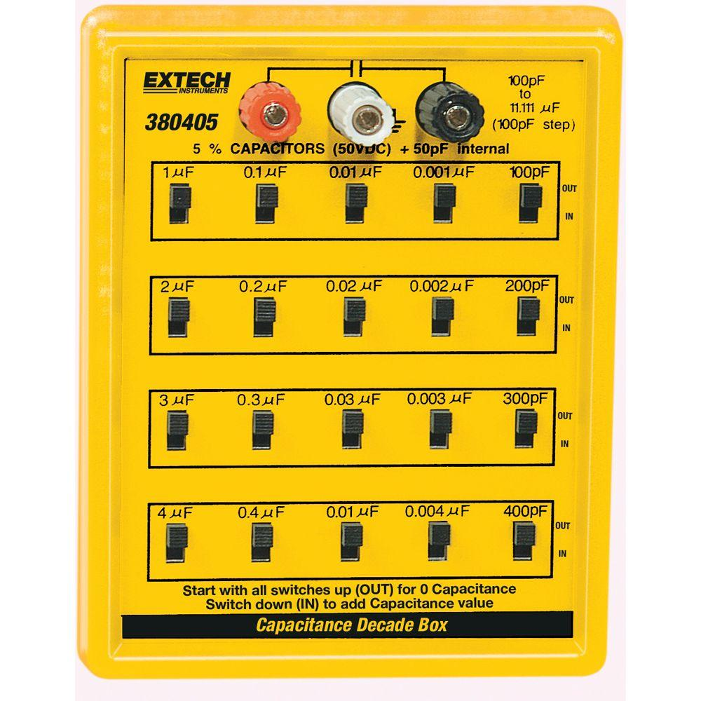 Extech Instruments Capacitance Decade Box