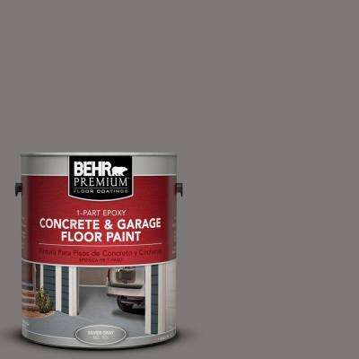 1 gal. #PFC-74 Tarnished Silver 1-Part Epoxy Concrete and Garage Floor Paint