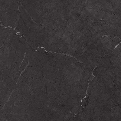 2 in. x 3 in. Laminate Countertop Sample in Black Alicante with Premium Textured Gloss Finish