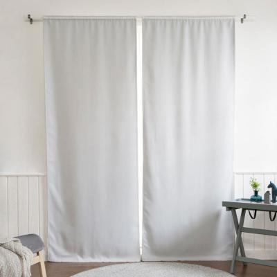 Blackout Window Curtain Liner 35 in. W x 80 in. L in Vapor