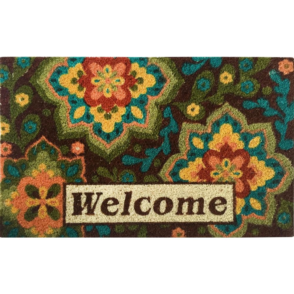 Carolines Treasures Summer Under Water Doormat 24 H x 36 W Multicolor