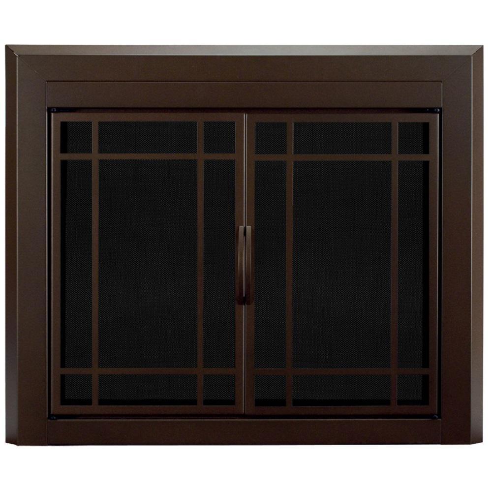Enfield Medium Glass Fireplace Doors