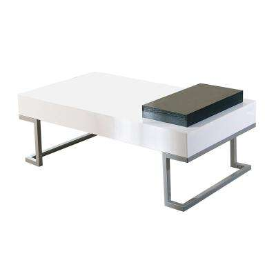 Alaina White Coffee Table