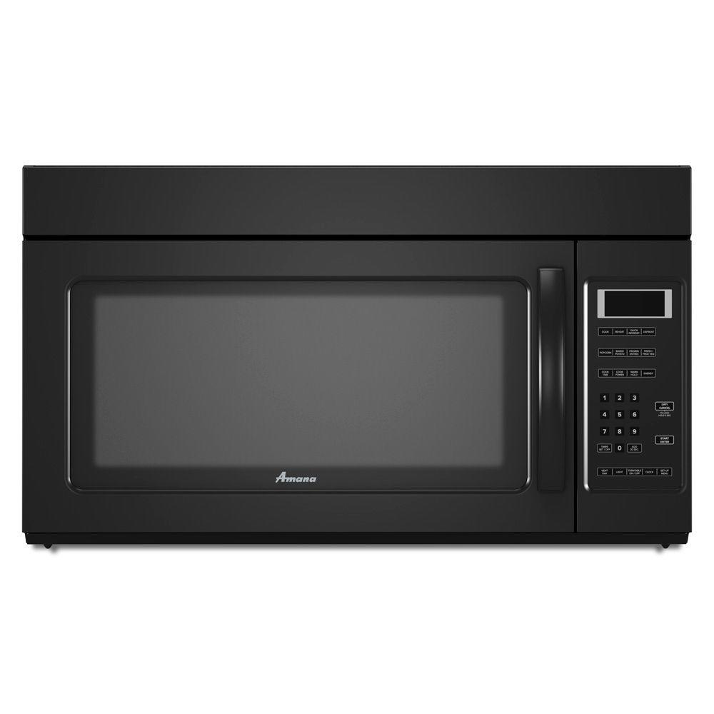 Amana 1.7 cu. ft. Over the Range Microwave in Black