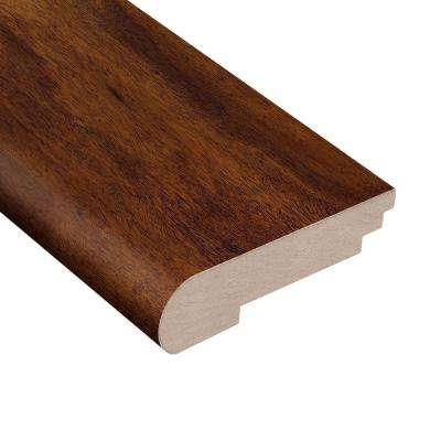 Anzo Acacia 3/8 in. Thick x 3-1/2 in. Wide x 78 in. Length Hardwood Stair Nose Molding