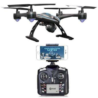 F5 FPV RC Quadcopter Drone with Wi-Fi Camera, Black