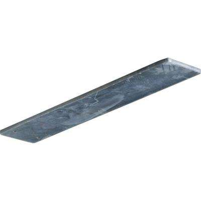 14 in. x 3 in. x 1/4 in. Steel Unfinished Metal Logan Bracket