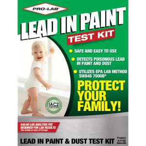 pro lab lead paint and dust test kit lp106 the home depot. Black Bedroom Furniture Sets. Home Design Ideas