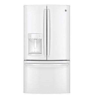 36 in. W 25.8 cu. ft. French Door Refrigerator in White