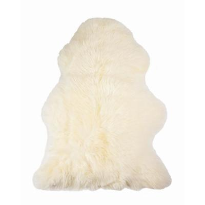 Josephine Natural 2 ft. x 3 ft. Solid Sheepskin Area Rug