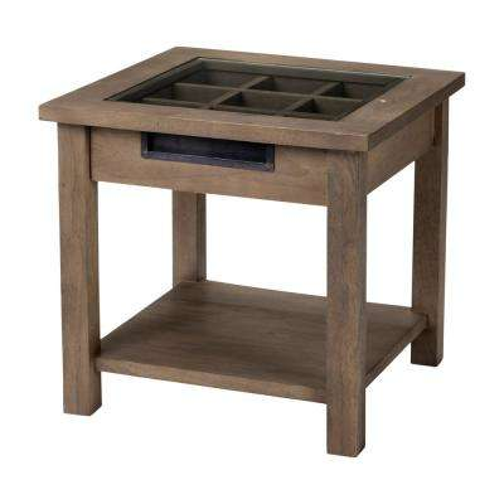 Harrelson II Natural Brown Side Table