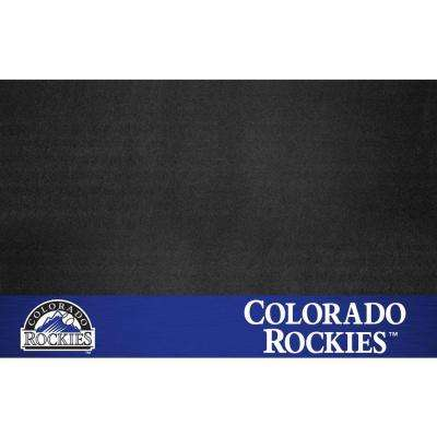 Colorado Rockies 26 in. x 42 in. Grill Mat