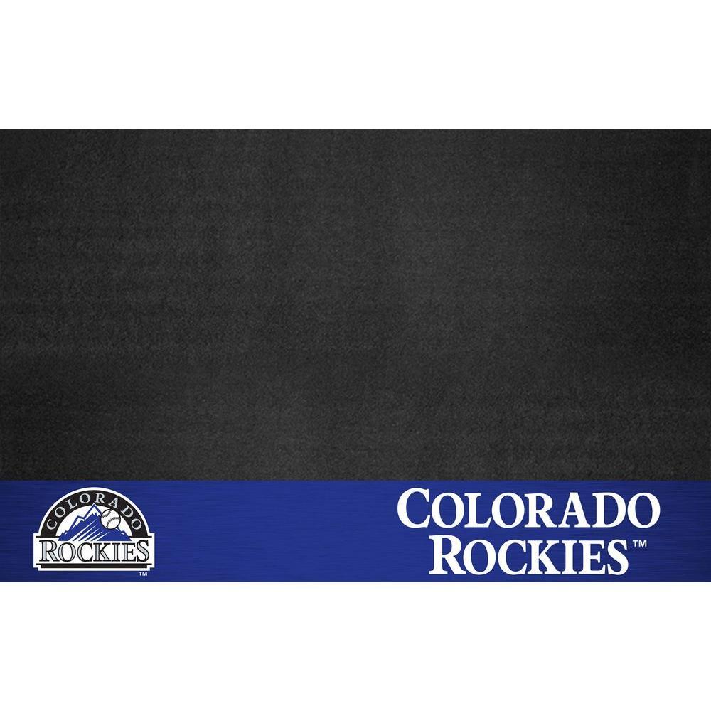 Colorado Rockies 26 in. x 42 in. Grill Mat