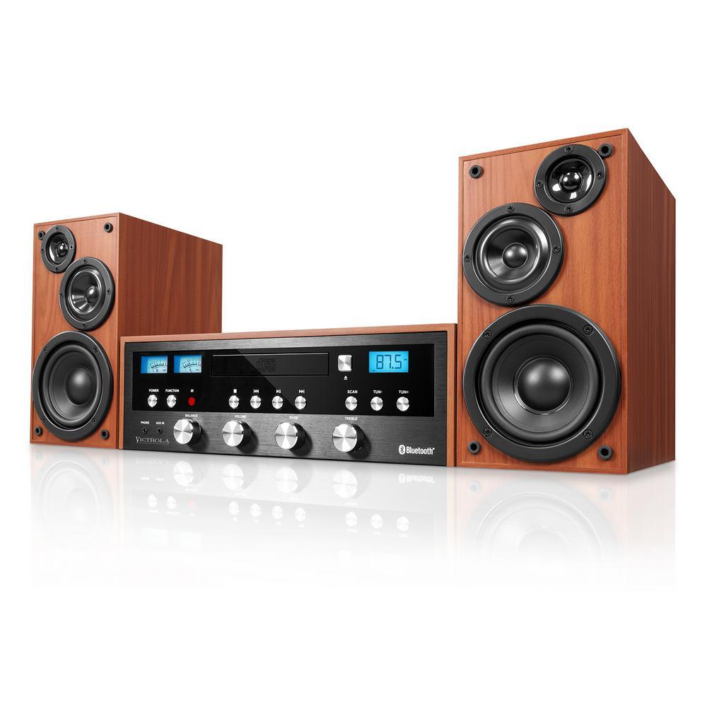 50-Watt Classic CD Stereo with Bluetooth