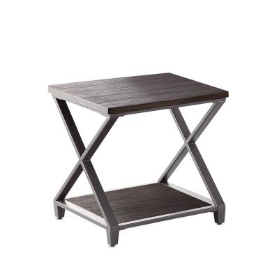 Alex Dark Grey-Brown End Table